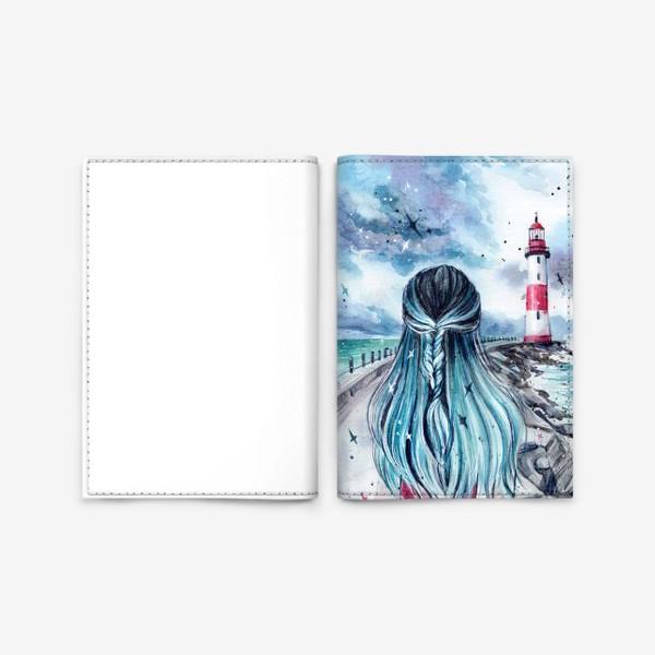 Обложка для паспорта «русалочка»