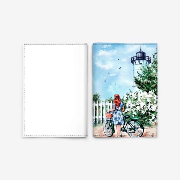 Обложка для паспорта «летний день»