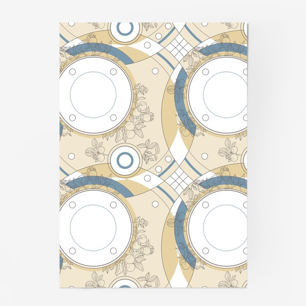 Постер «Абстрактный паттерн круги»