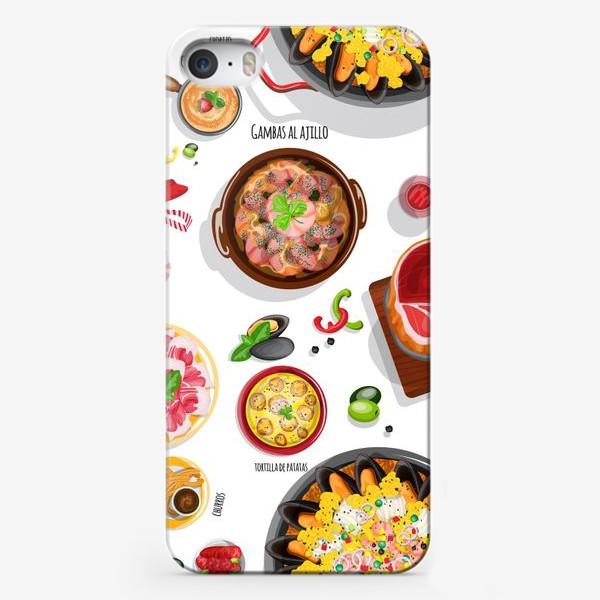 Чехол iPhone «Испанское застолье»