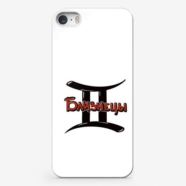 Чехол iPhone «Близнецы. Знаки зодиака»