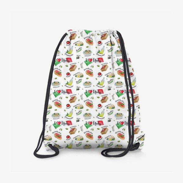 Рюкзак «Паттерн «Вкус Италии»»