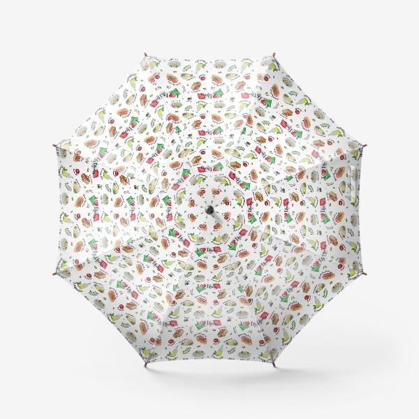 Зонт «Паттерн «Вкус Италии»»