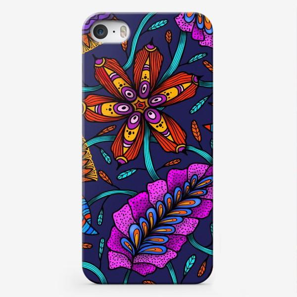 Чехол iPhone «Фантастические Цветы»