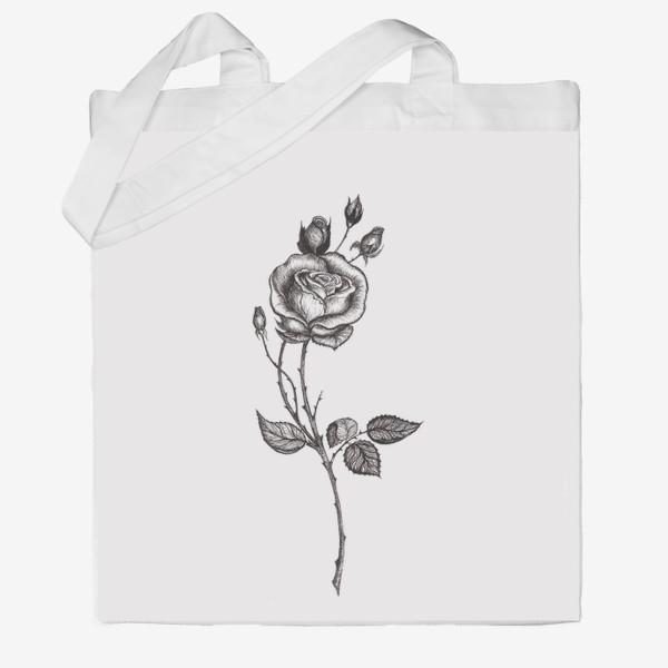 Сумка хб «Роза»