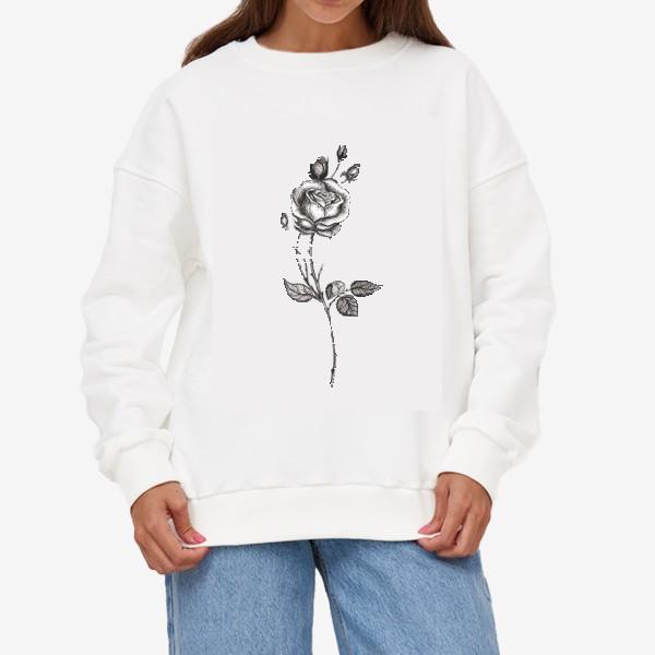 Свитшот «Роза»