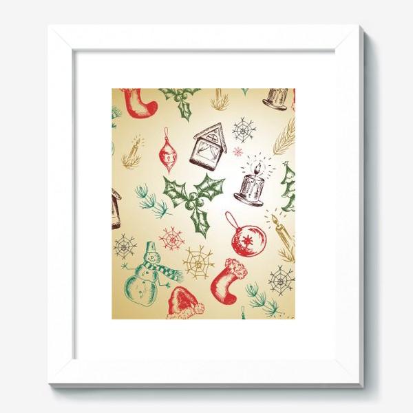 Картина «Рождество. Новый год.»