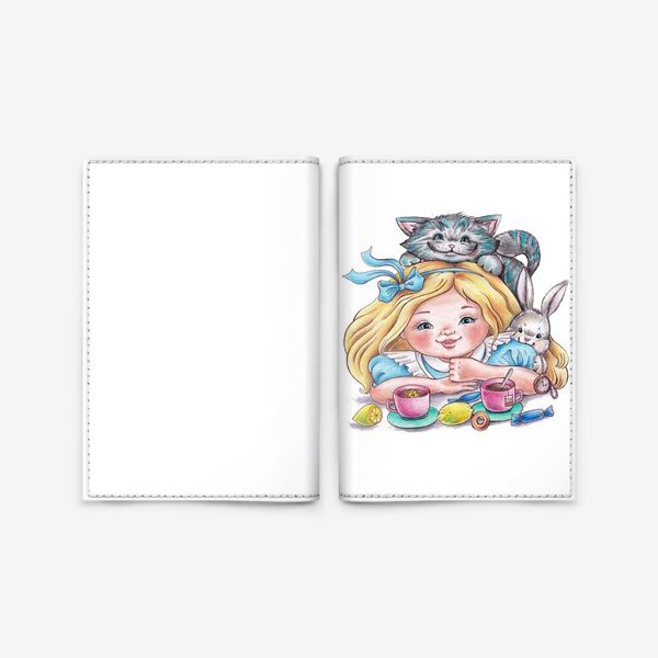 """Обложка для паспорта «""""Моя Алиса""""»"""