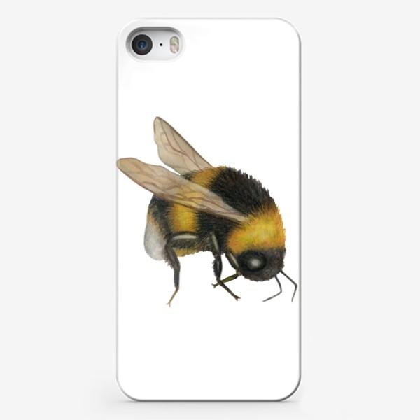 Чехол iPhone «Шмель2»