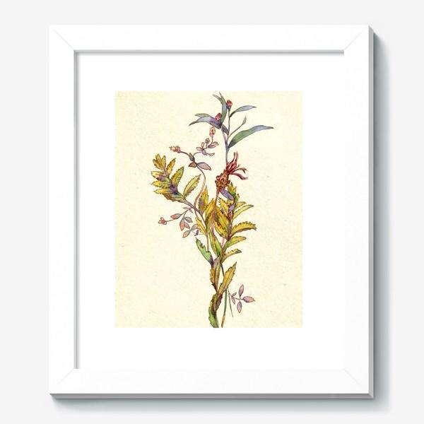 Картина «букет из трав»