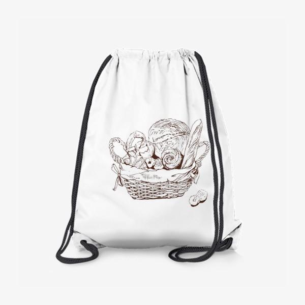 Рюкзак «корзинка с хлебом»