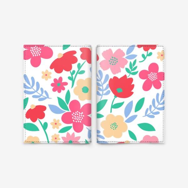 Обложка для паспорта «Цветочное настроение»