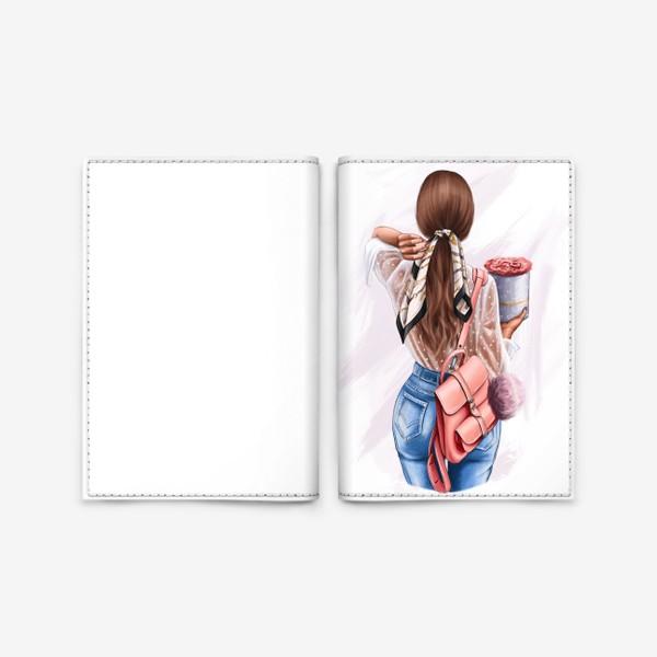 Обложка для паспорта «Pretty Girl»