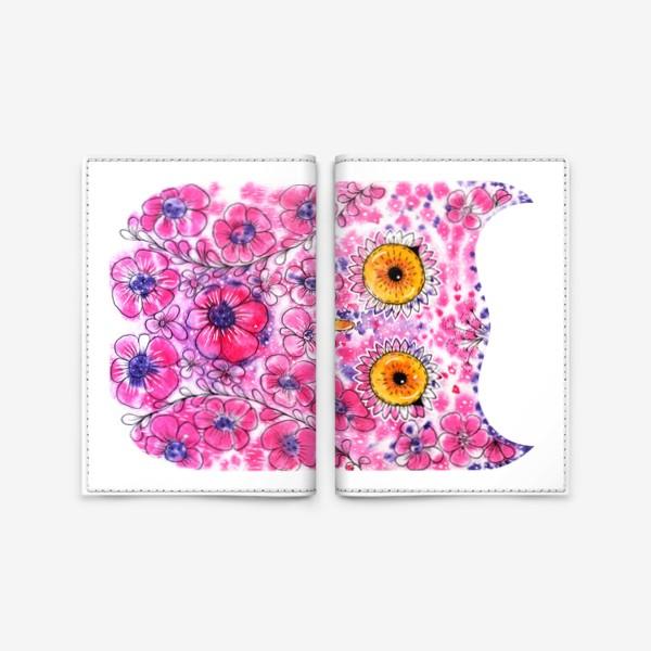 Обложка для паспорта «Сова - Весна»