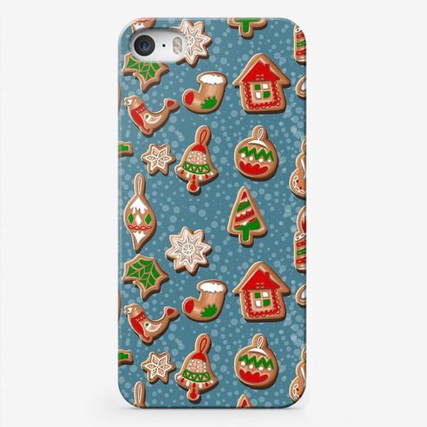 Чехол iPhone «Дух Рождества. Рождество. Рождественское печенье. »