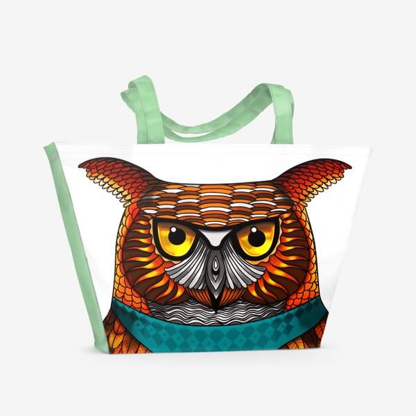 Пляжная сумка «Филин (Сова)»
