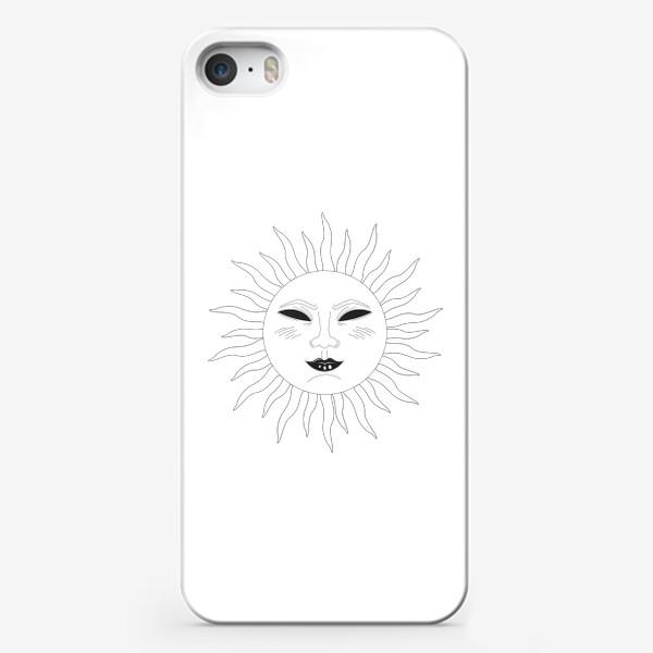 Чехол iPhone «солнце»