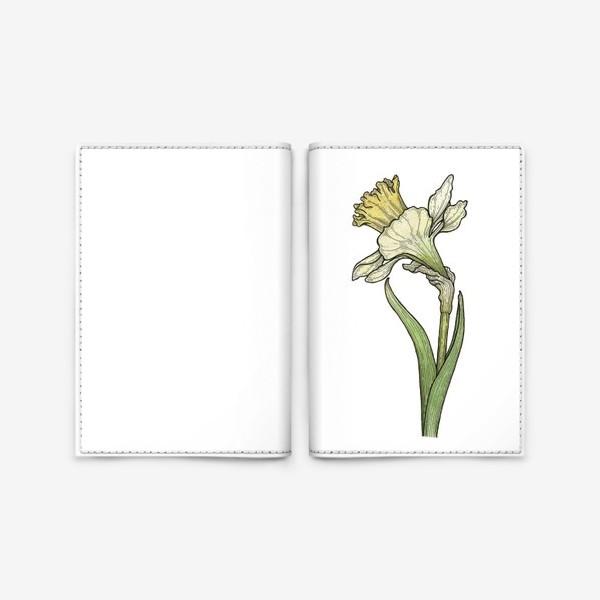 Обложка для паспорта «Нарцисс»