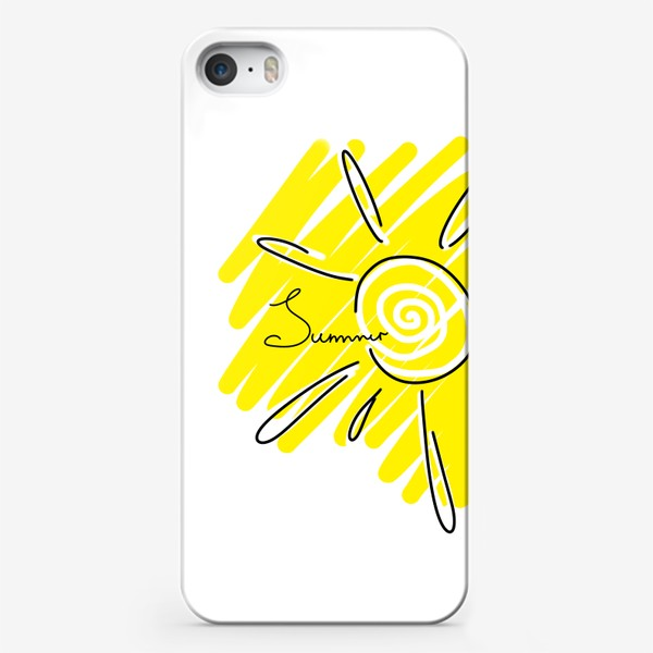 Чехол iPhone «Summer. солнечное лето»