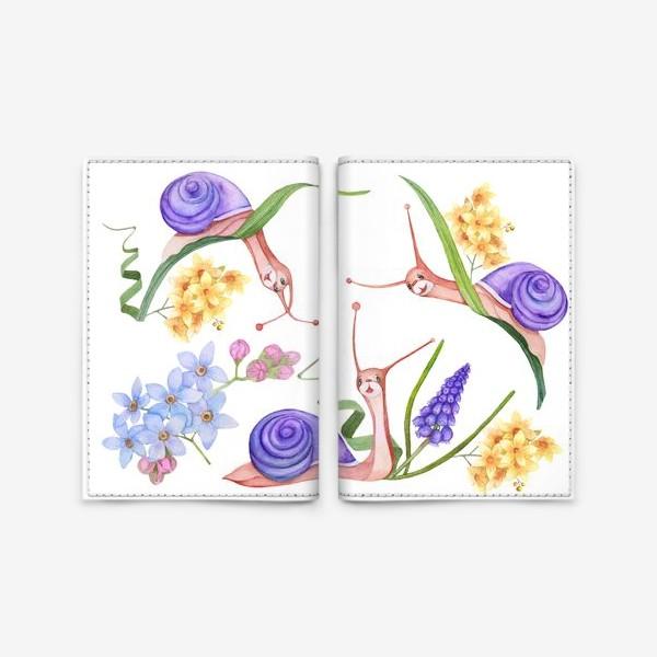 Обложка для паспорта «3 улитки»