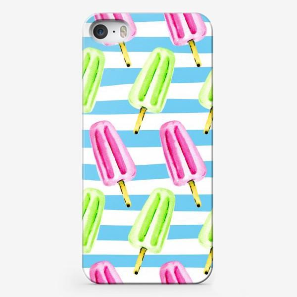 Чехол iPhone «Фруктовое мороженое»