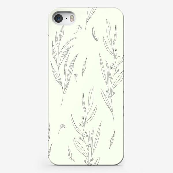 Чехол iPhone «веточки»