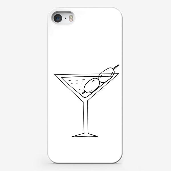 Чехол iPhone «мартини. коктейль. бар. напитки. пятница»