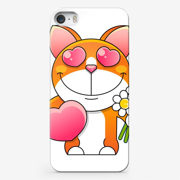 Чехол iPhone «cat»