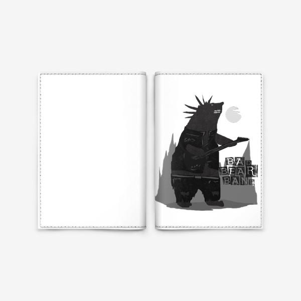 Обложка для паспорта «Bad Bear Band»