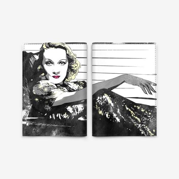 Обложка для паспорта «Марлен Дитрих »
