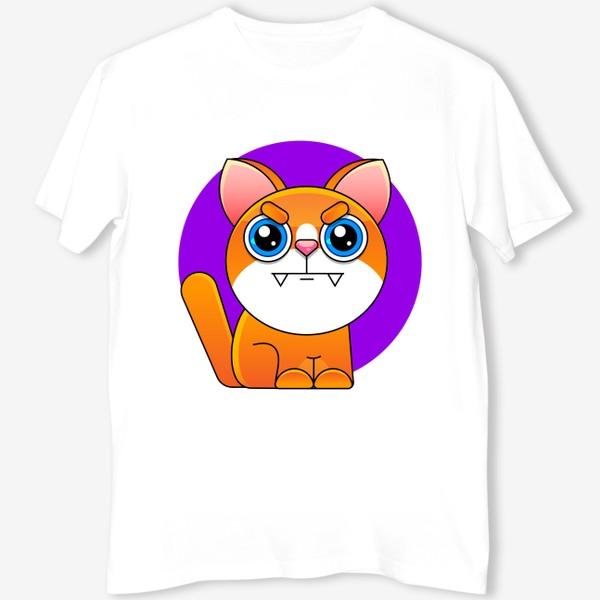 Футболка «cat»