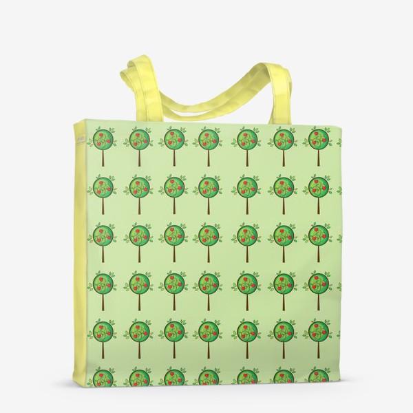 Сумка-шоппер «Яблочный сад»