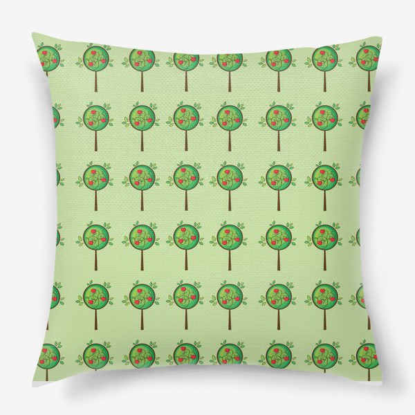 Подушка «Яблочный сад»