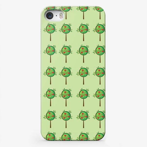 Чехол iPhone «Яблочный сад»