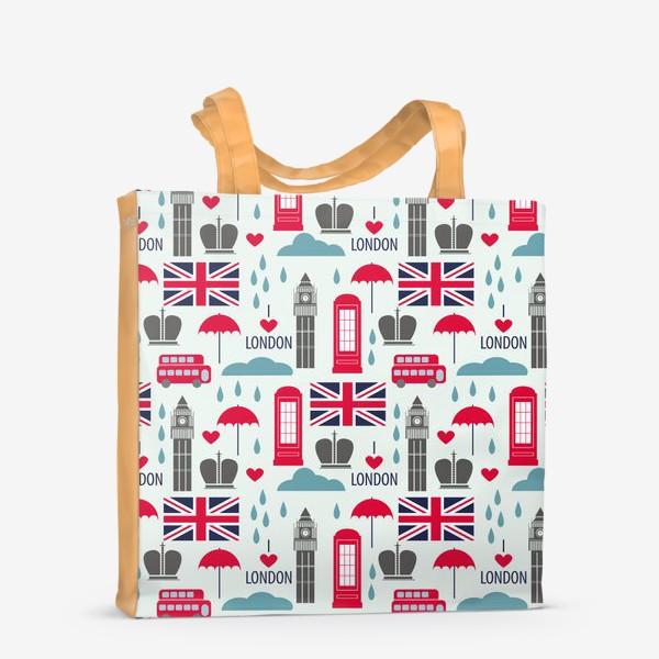 Сумка-шоппер «Паттерн Англия»