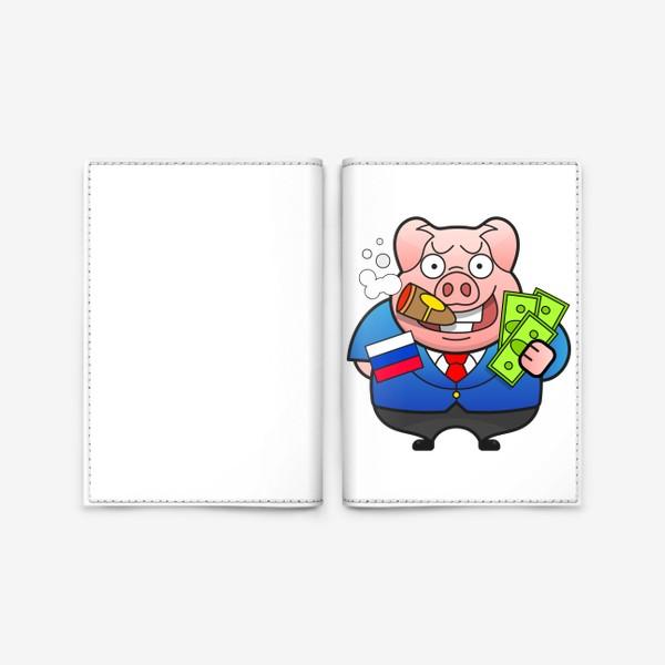 Обложка для паспорта «Босс»