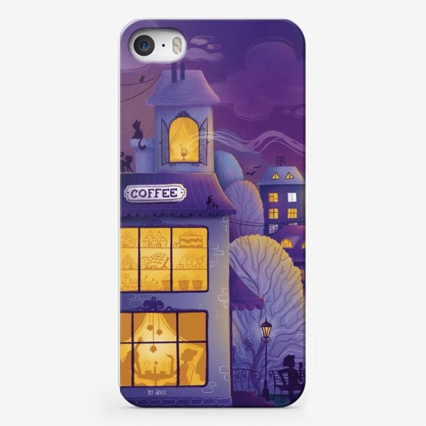 "Чехол iPhone «Триптих ""Магия Питерской ночи"". Картина 1»"