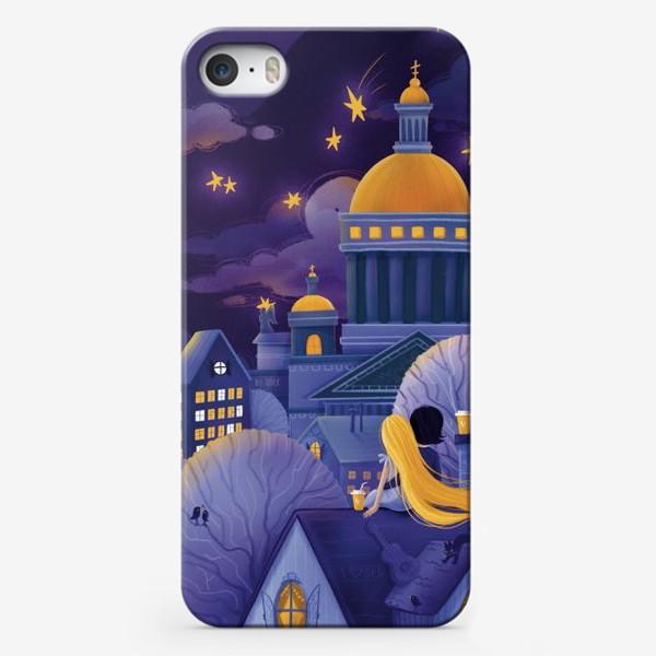 "Чехол iPhone «Триптих ""Магия Питерской ночи"". Картина 3»"