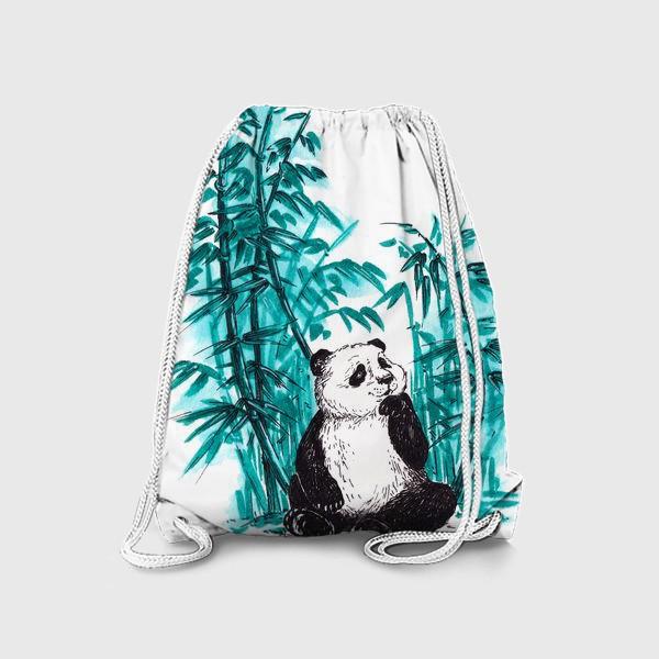 Рюкзак «Панда и бамбук»