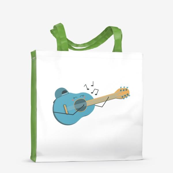Сумка-шоппер «Гитаристка »