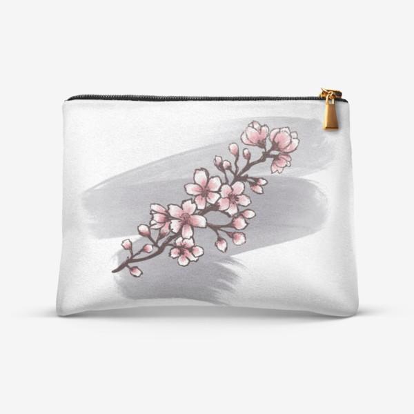 Косметичка «Веточка Сакуры. Весна. С любовью.»