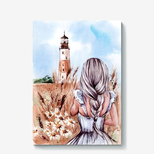 Холст «Пшеничное лето»