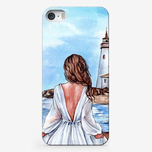 Чехол iPhone «Лазурный берег»