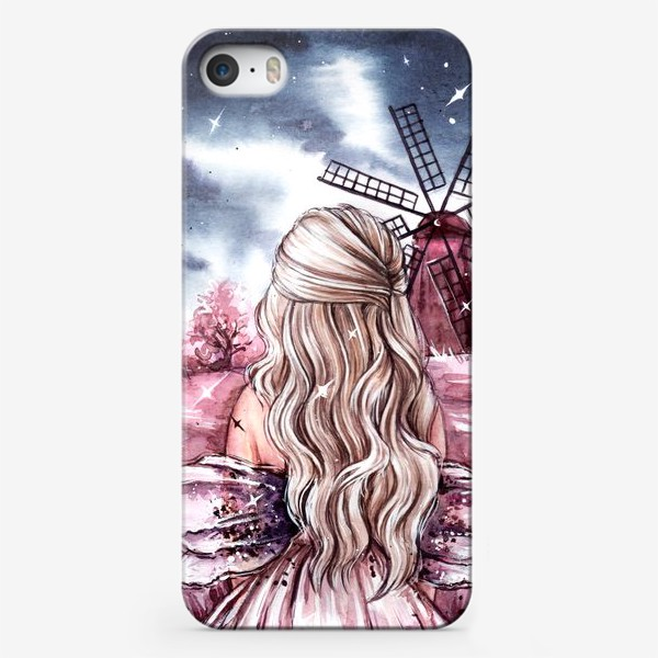 Чехол iPhone «розовый мир»