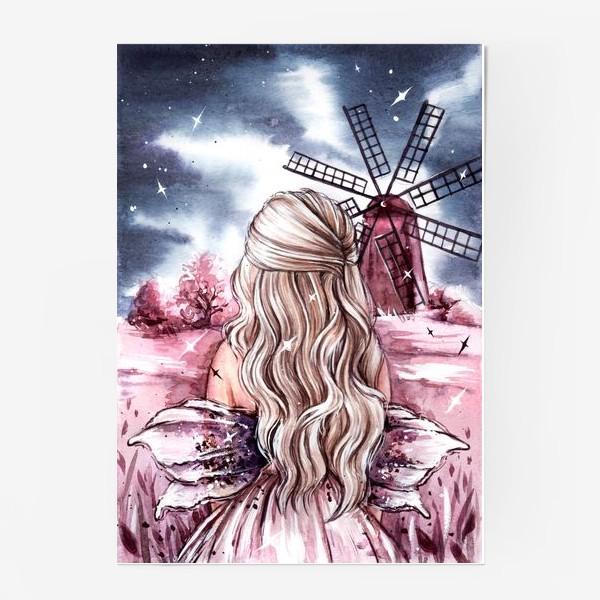 Постер «розовый мир»