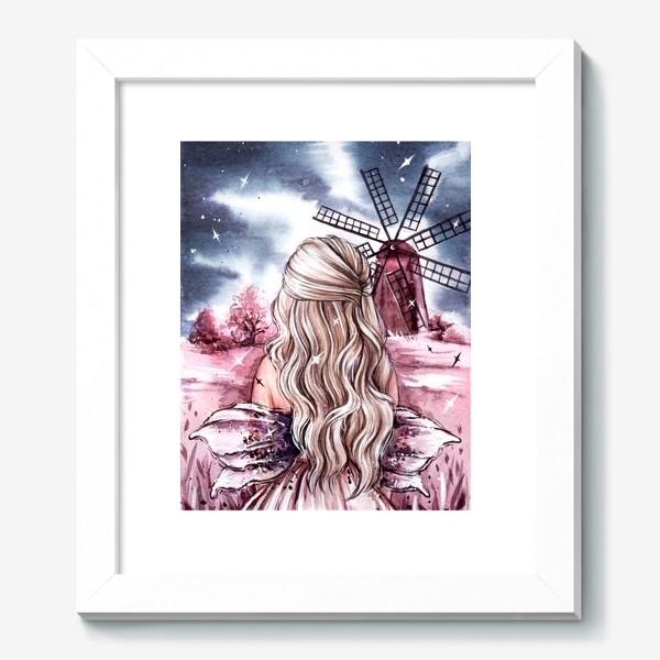 Картина «розовый мир»