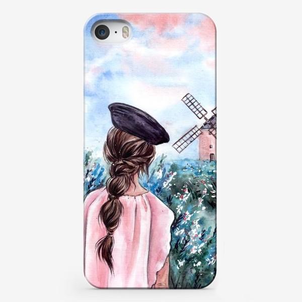 Чехол iPhone «васильковые сны»