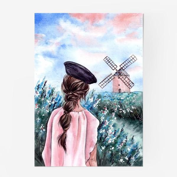 Постер «васильковые сны»