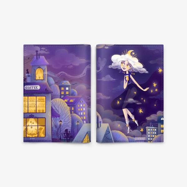Обложка для паспорта «Магия Питерской ночи by Ance»
