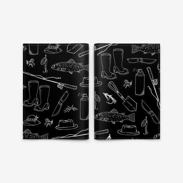 Обложка для паспорта «рыбалка»
